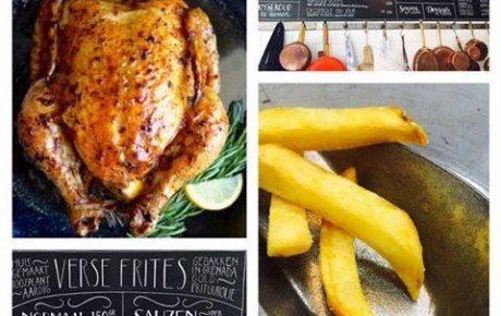 Verse frietjes en gebraden kippetjes bij Chefs Poulets & Frites