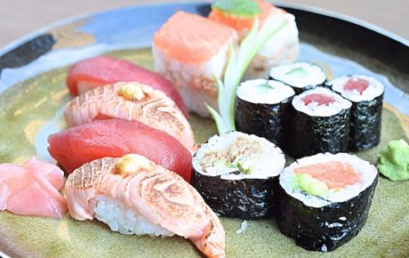 Funky affordable sushi spot