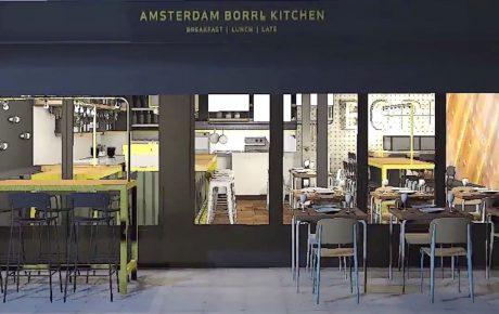 BORRL Kitchen opent tegenover Artis