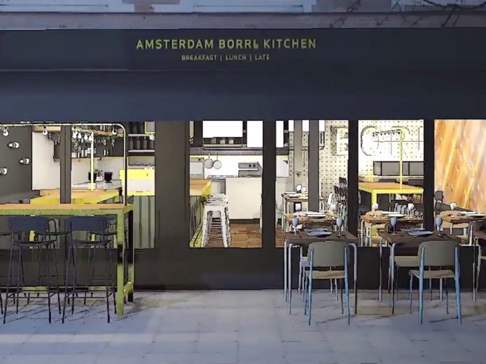 BORRL Kitchen Amsterdam bar restaurant
