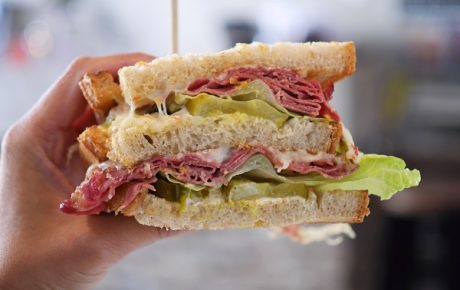 De dag dat de club mijn favo sandwich werd