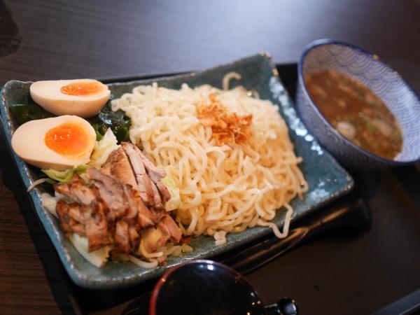 tsukemen noodles Hinoki
