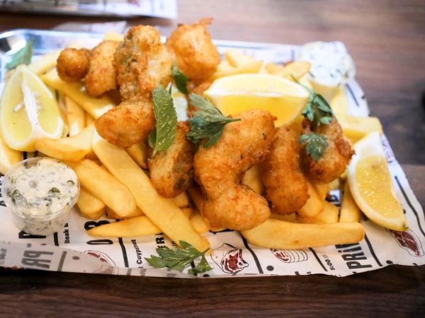 The Butcher Social Club Fish Chips