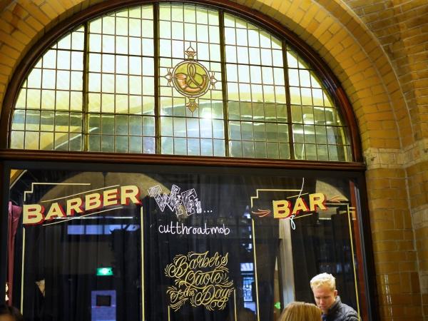 Cut Throat Amsterdam barber bar