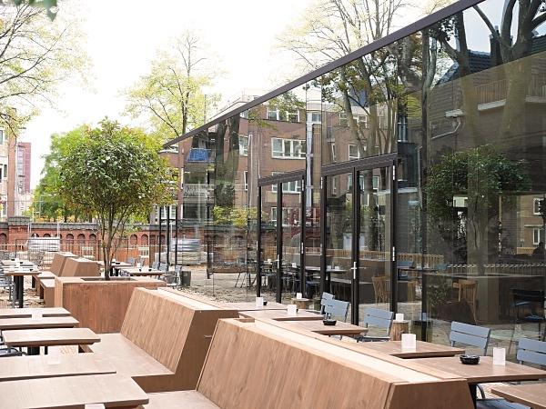terras Amsterdam Park Oosterpark