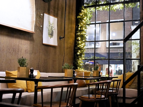 Restaurant Brasserie Bistro Bleu Amsterdam