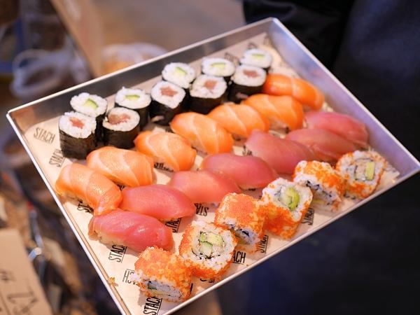 Stach Amsterdam sushi