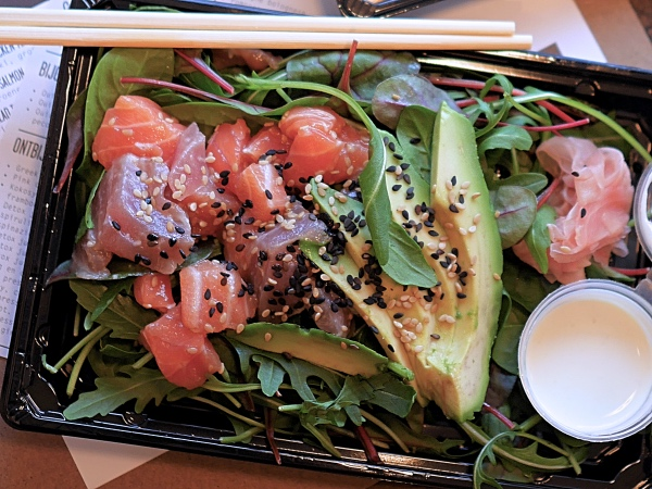 Stach Food Amsterdam sushi salad