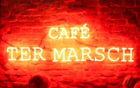Cafe Ter Marsch relaxte spot in Rotterdam