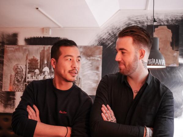 Luke Brouwer Jin Lu chef