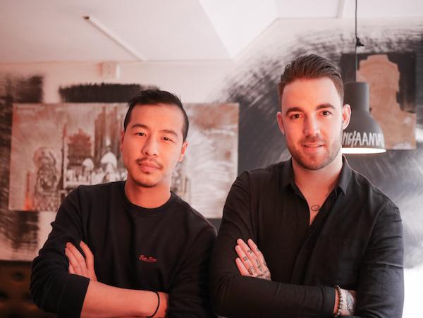 Jin Hu Luke Brouwer chef