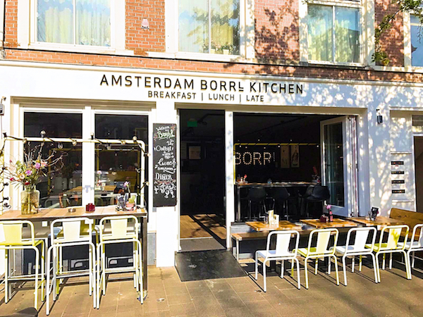 BORRL Kitchen Amsterdam restaurant bar