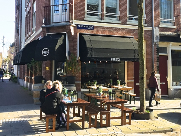 Terrassen Amsterdam West Barrica