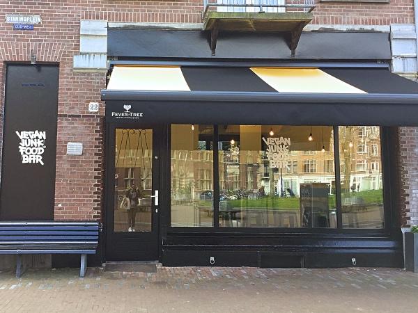 Vegan Junk Food Bar Amsterdam nieuw