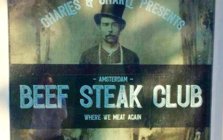 Beef Steak Club Amsterdam nieuw in het centrum