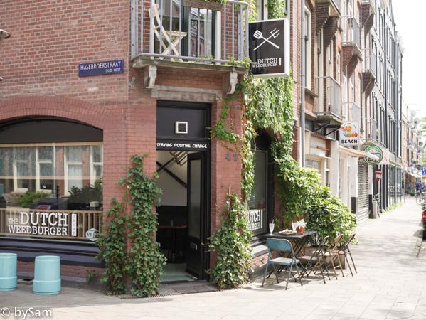 Dutch Weed Burger Joint vegan