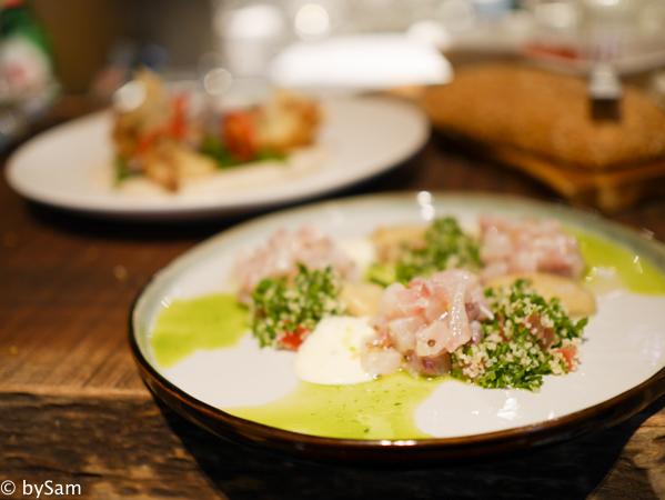 Israelisch eten bar FISK Amsterdam