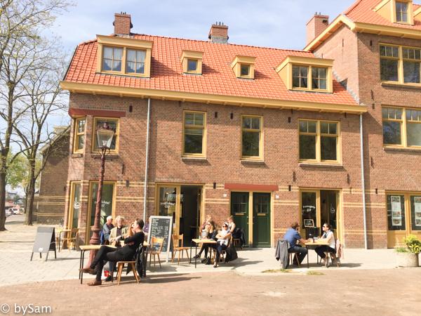 Kef Amsterdam Proeflokaal terras