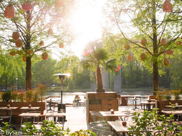 Strand Zuid Amsterdam hotspot RAI water