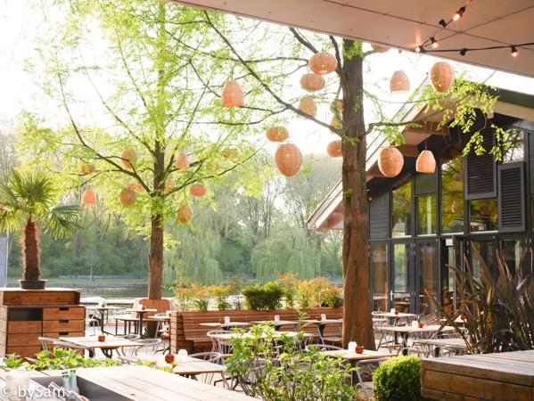 Strand Zuid terras eten Amsterdam