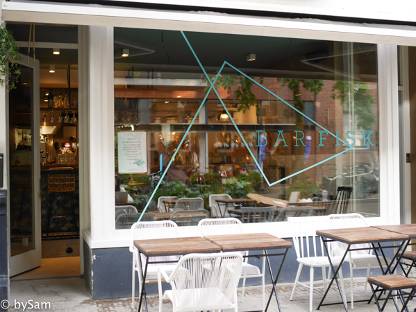 uit eten Amsterdam Bar FISK