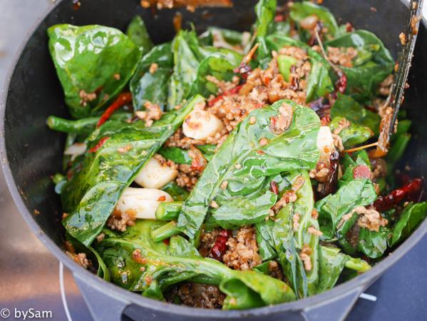 Chinees koken Aziatische ingredienten