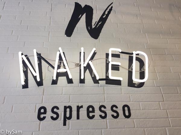 Naked espresso koffiebar