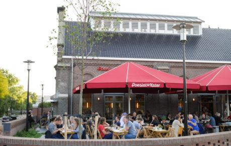 Nieuwe bierbrouwerij met terras in Amsterdam Oost