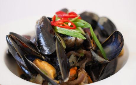 Recept Aziatische mosselen