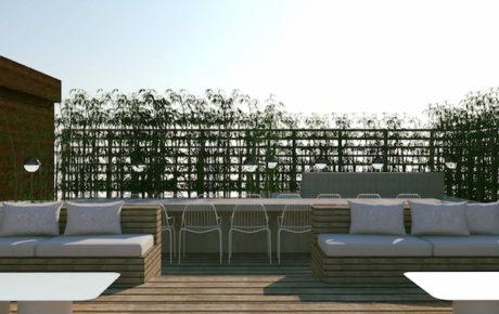 George Marina nieuwe strandtent aan de Amstel in Oost