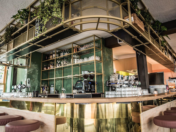 Hoed & Krelis restaurant bar Amsterdam