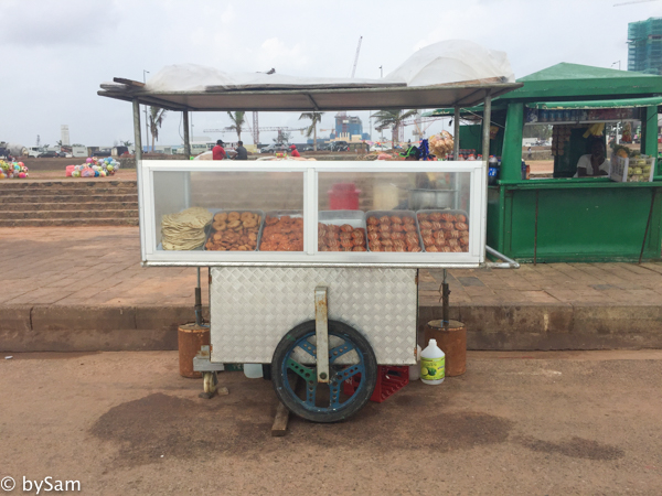 Sri Lanka food stand