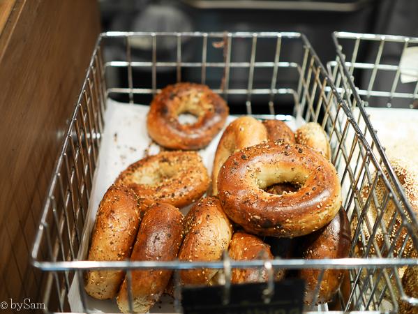 Black Seed Bagels bread