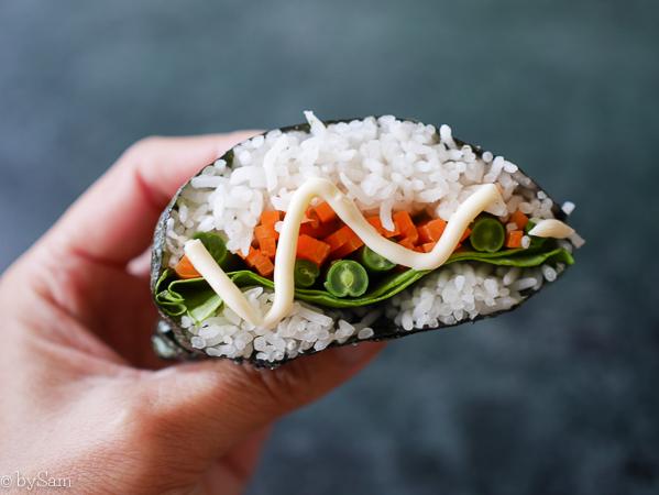 Recept sushi sandwich zelf maken