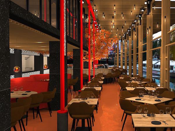 SushiSamba Amsterdam restaurant Centrum