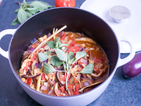 Chinees recept aubergine stoofpot