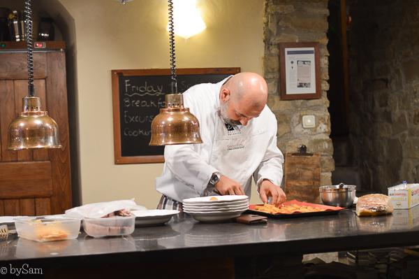 chef Franco Torre del Tartufo Tuscany