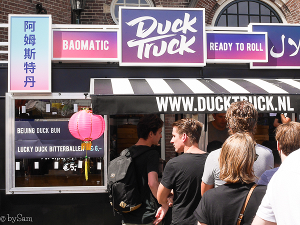 Duck Truck District Amsterdam Centraal