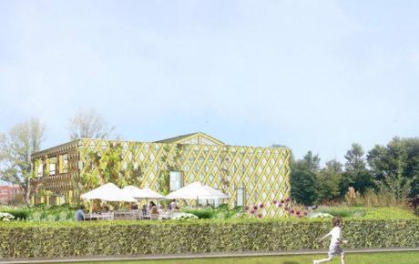 Hotel Buiten nieuw cafe restaurant aan de Sloterplas