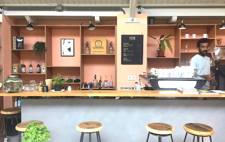 The Maker Cafe nieuwe koffiespot in de Hallen