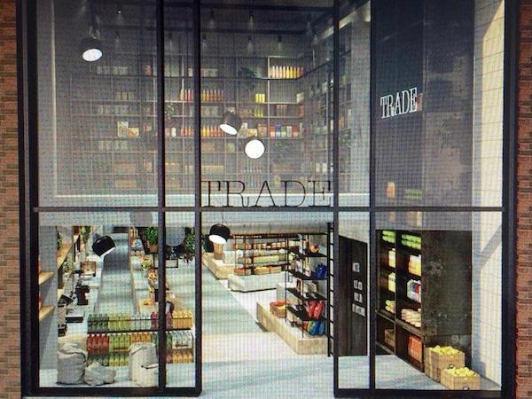 Trade Amsterdam bio supermarket foodhallen foodcourt Wallen