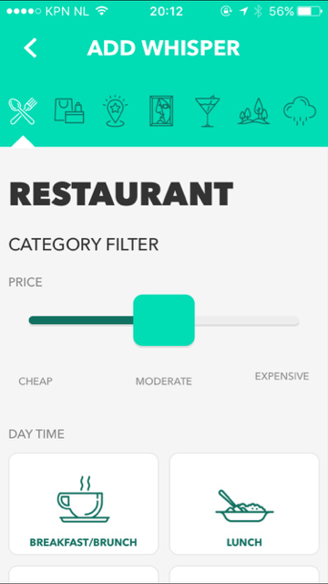Whisperocity restaurant add