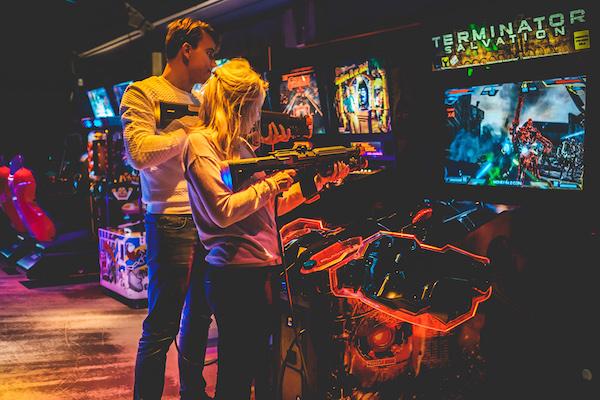 Ton Ton Club Oost arcadespellen