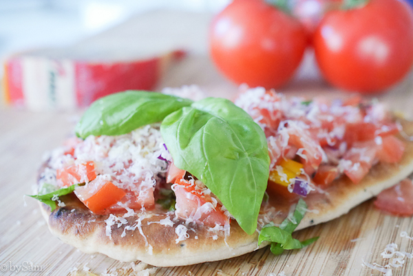 Recept Parrano kaas tricolore salsa
