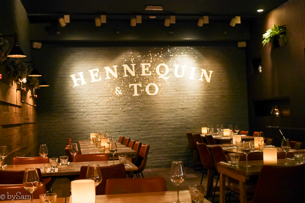Hennequin & To Amsterdam restaurant bar