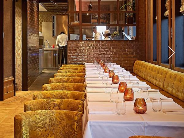 Restaurant Bougainville Amsterdam