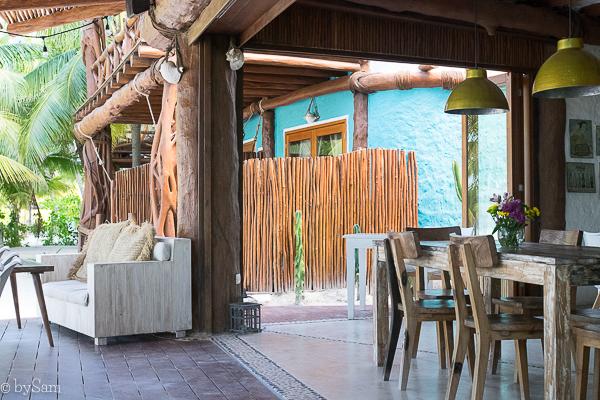 Restaurant Mandarina Isla Holbox
