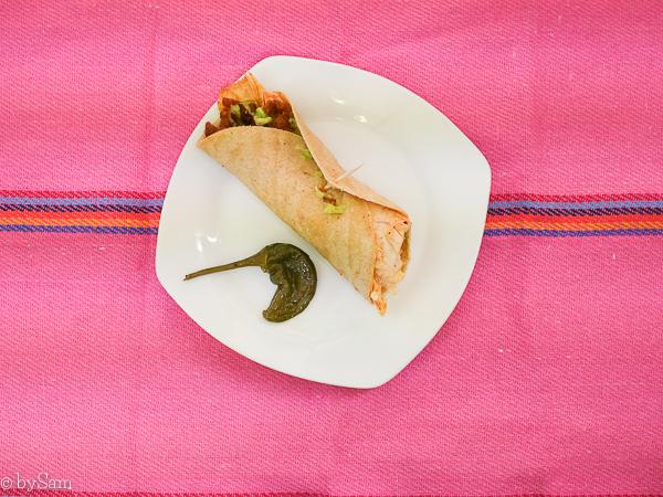 Best taco Mexico City El rey del Pavo