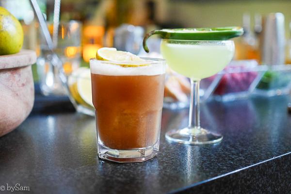 Mezcal cocktail bar Mexico City