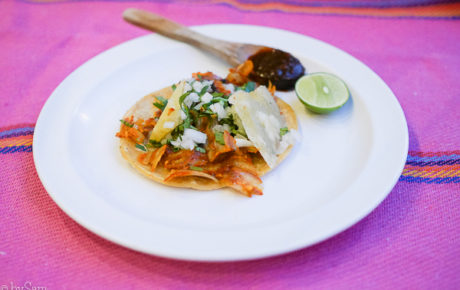 4 x taco's. Hier eet je de beste taco's van Mexico City